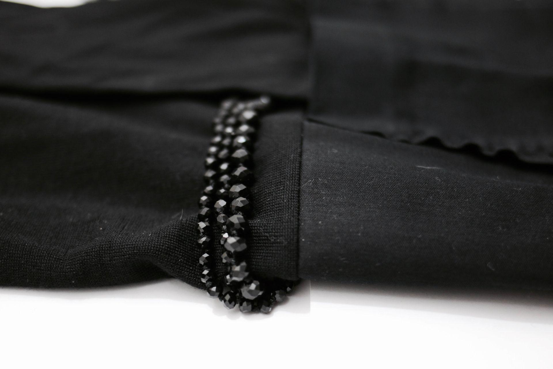 robe noir cos