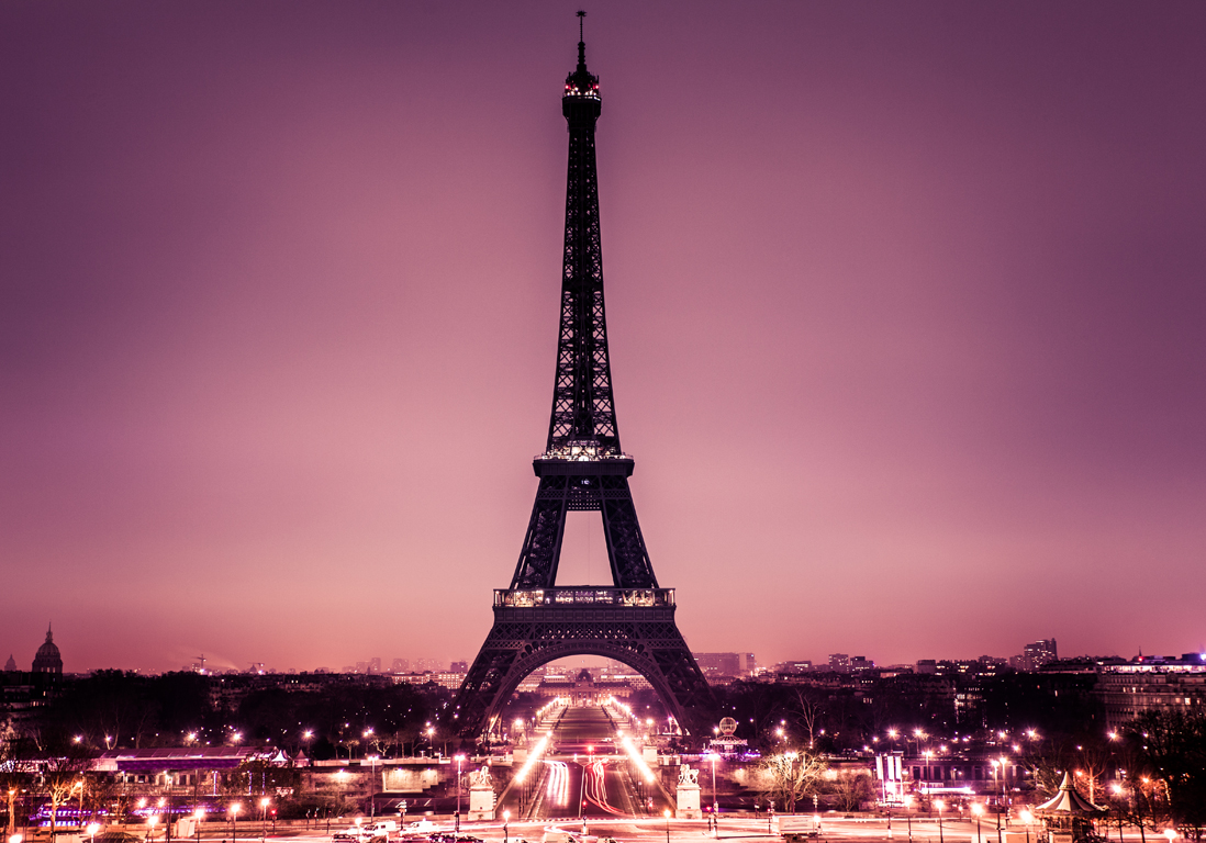 Romantic Paris with Tour Eiffel